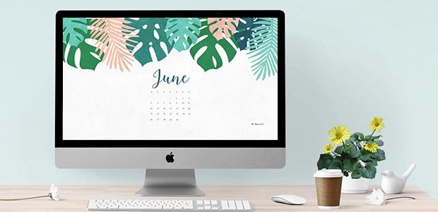 Calendar Wallpaper Creator : June free calendar wallpaper desktop background