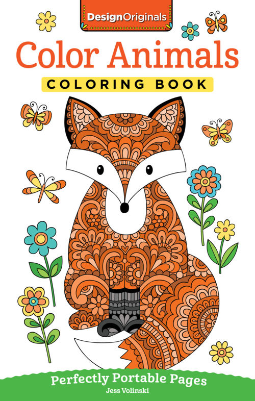 Color Animals Coloring Book Fox Chapel Publishing
