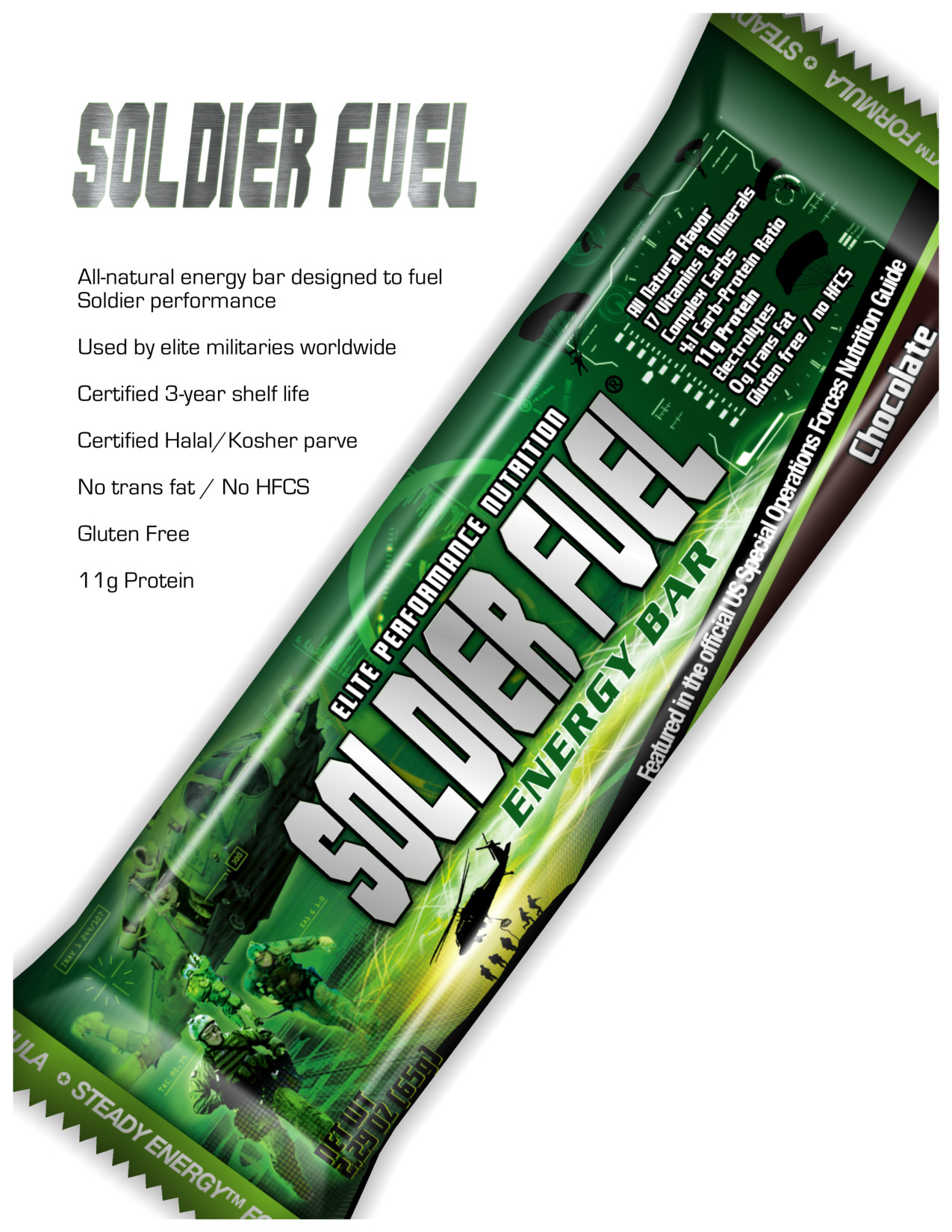 soldier fuel the world s 1 energy bar for warrior athletes
