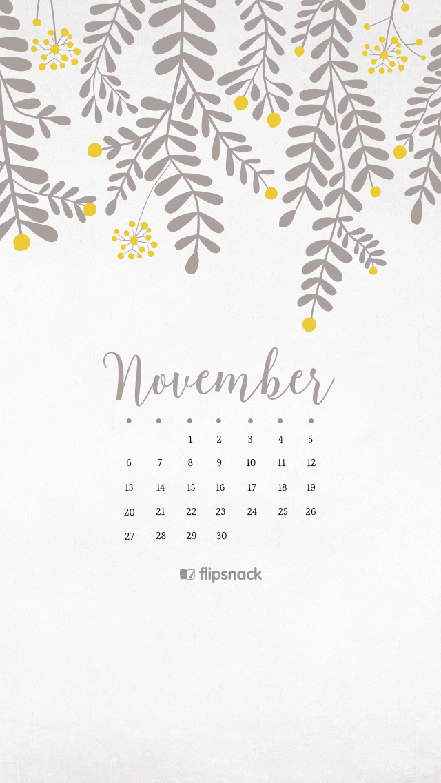 November Calendar Wallpaper For Iphone : November free calendar background desktop wallpaper