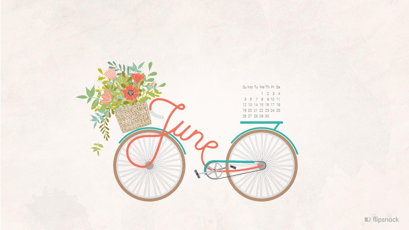 Desktop Calendar Wallpaper Creator : June 2016 free calendar wallpaper u2013 desktop background
