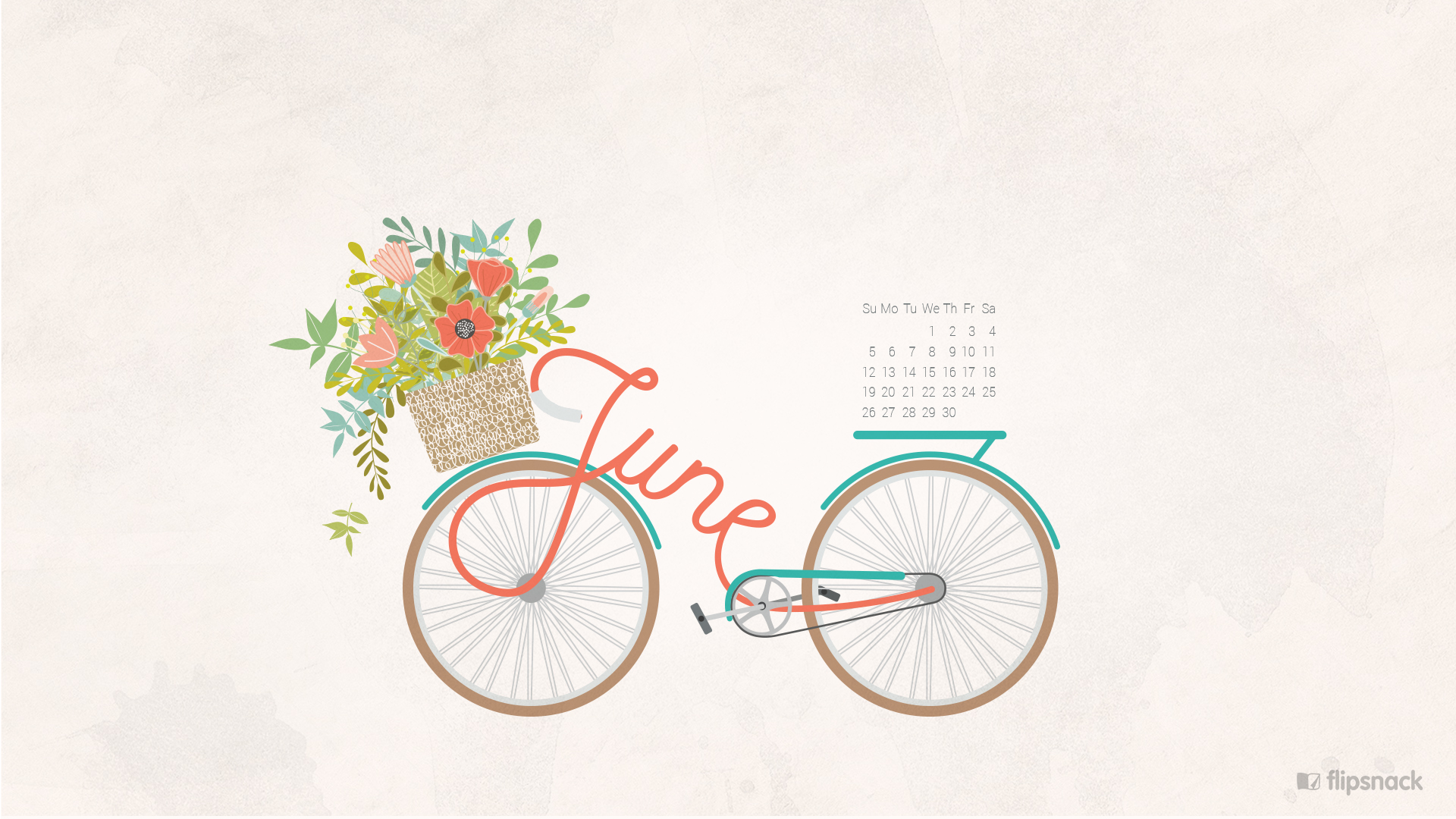 june 2016 free calendar wallpaper – desktop background