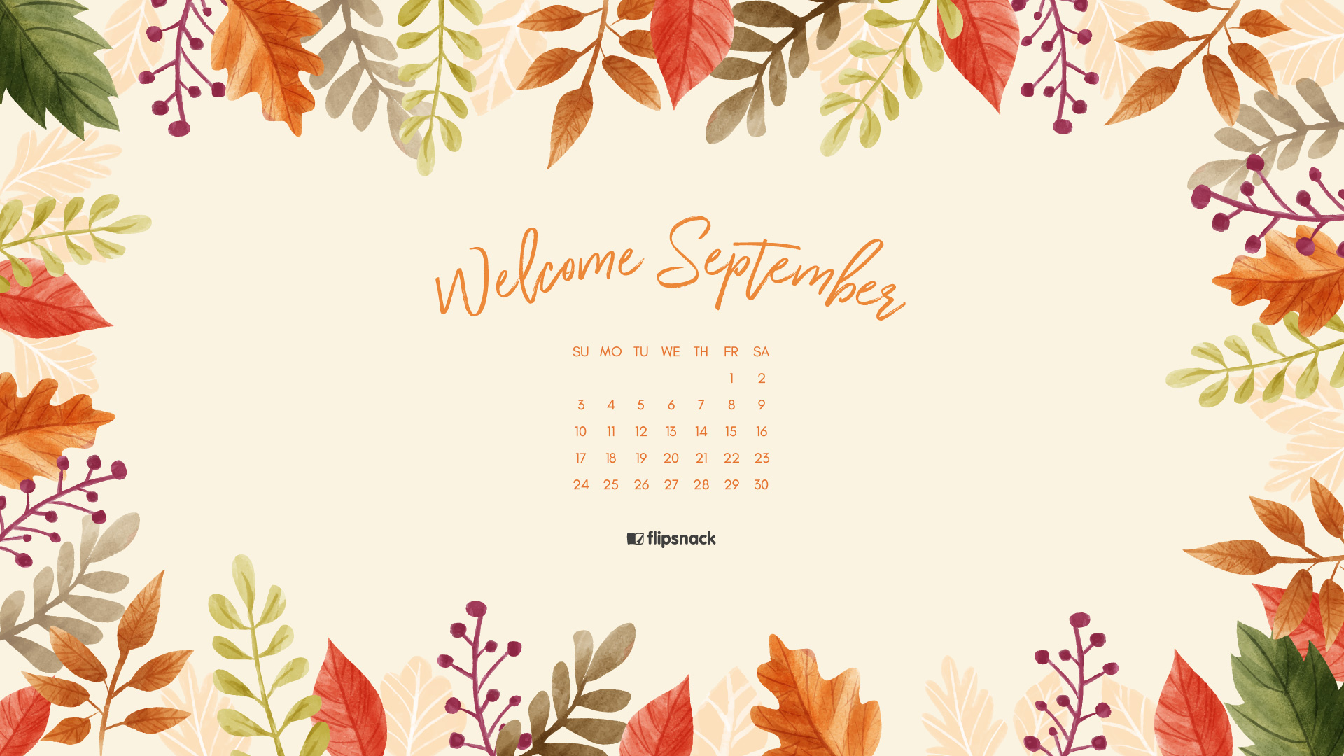 September 2017 Wallpaper. Download Calendar: ...
