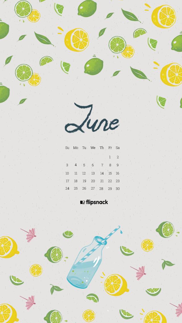 june 2018 wallpaper calendar for desktop smartphone