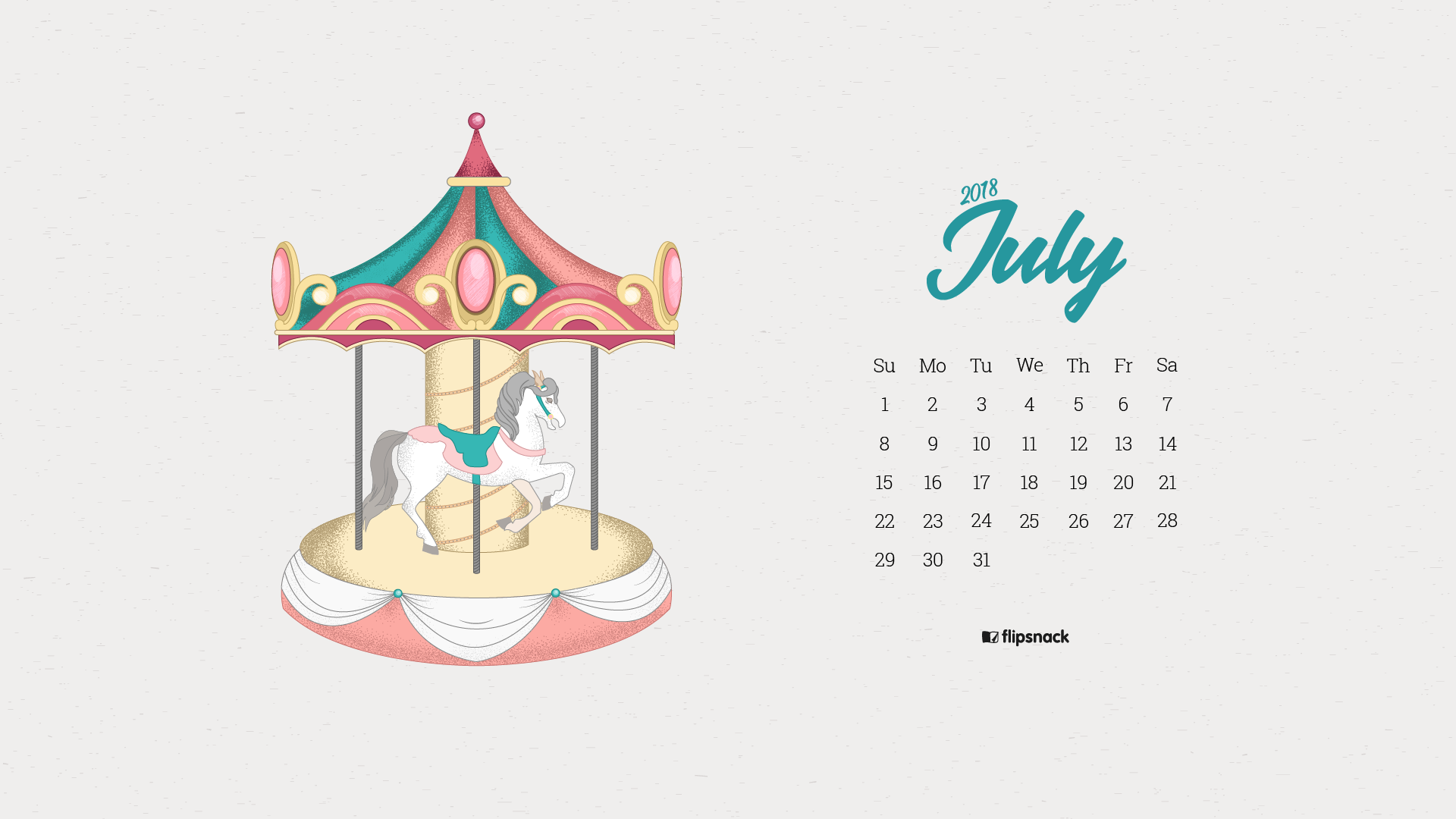 free download 19201080 1366768 6401136 july 2018 wallpaper calendar carousel