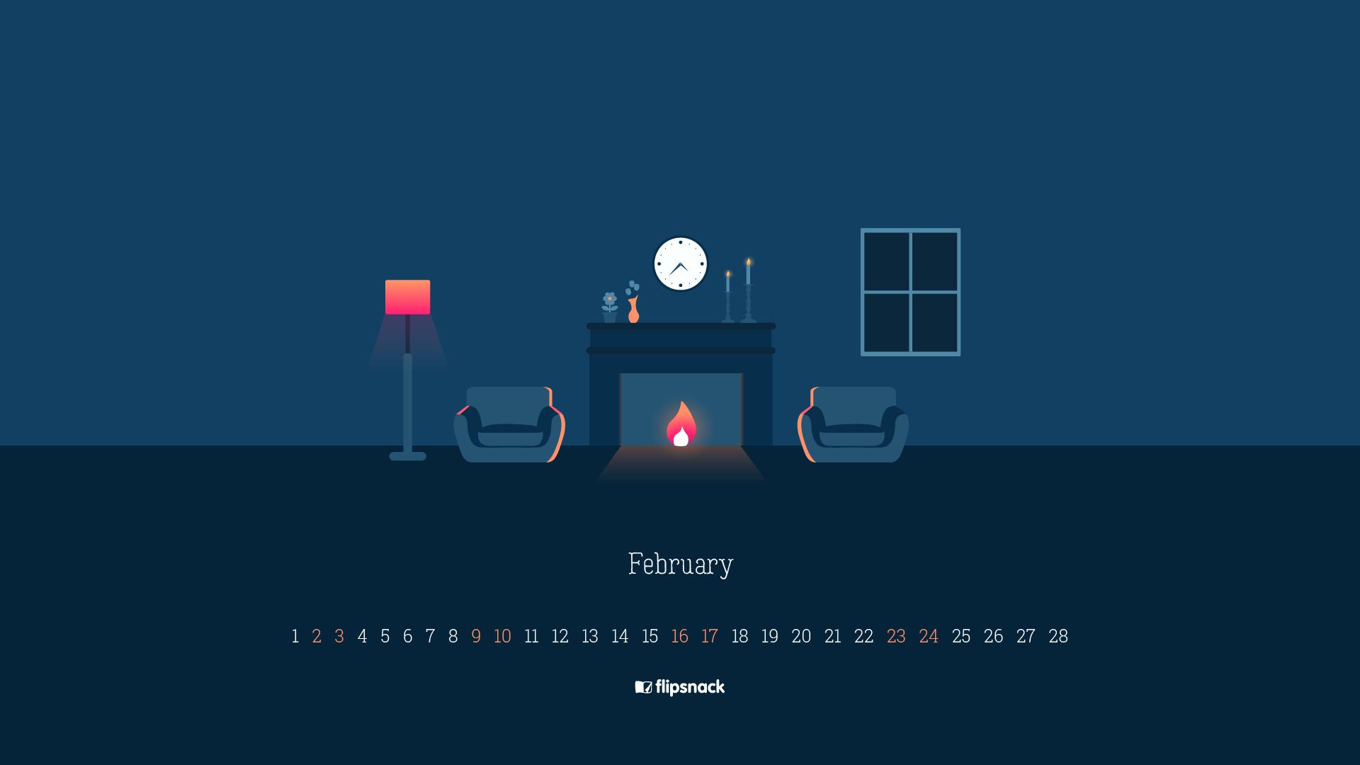 free february 2019 wallpaper calendars