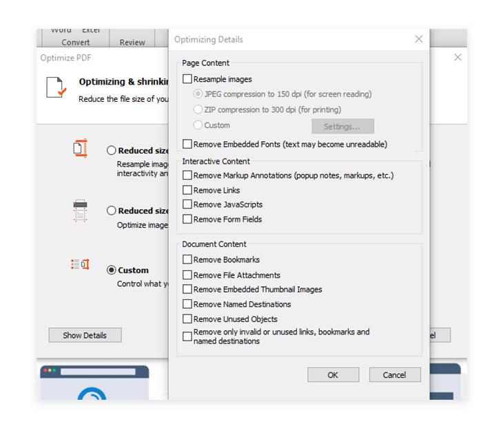 Nitro Optimize PDF