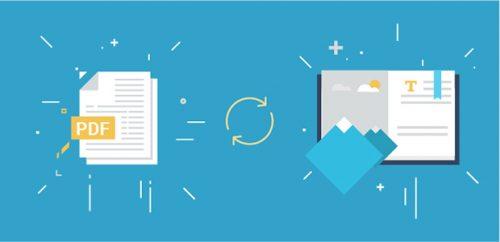 convert PDF into flipbook