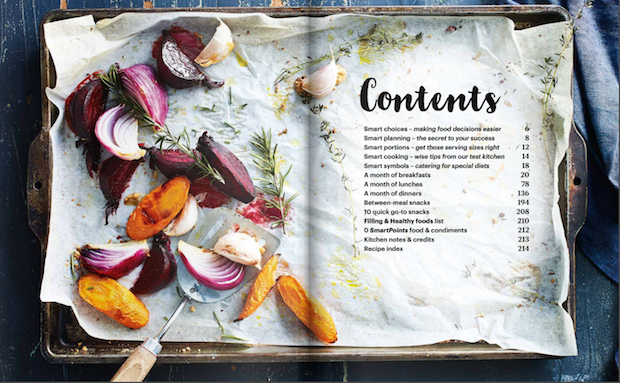 Design a creative table of contents. Examples and templatesFood Magazine Table Of Contents