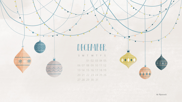 calendar december 2016