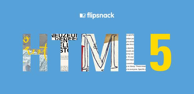 HTML5 magazines