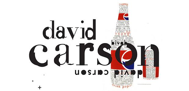 david carson type poster