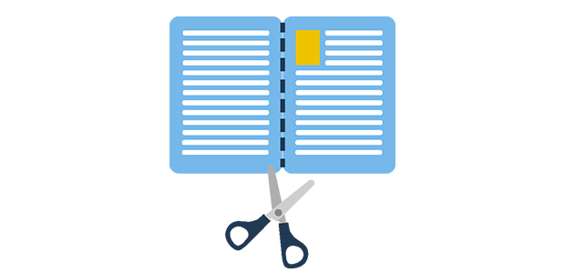 how to cut pdf pages in half online