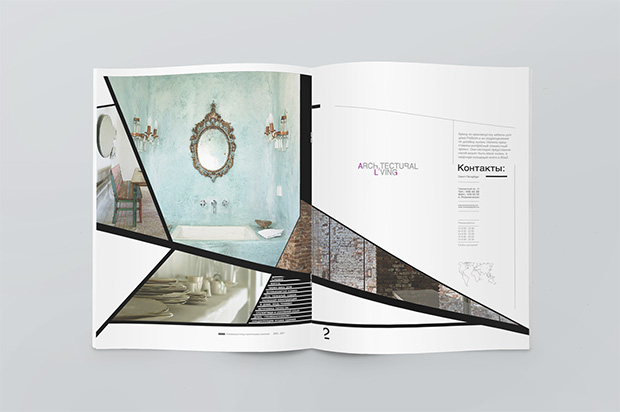 Creative Book Design Layouts ~ Creative layouts for interior design magazines