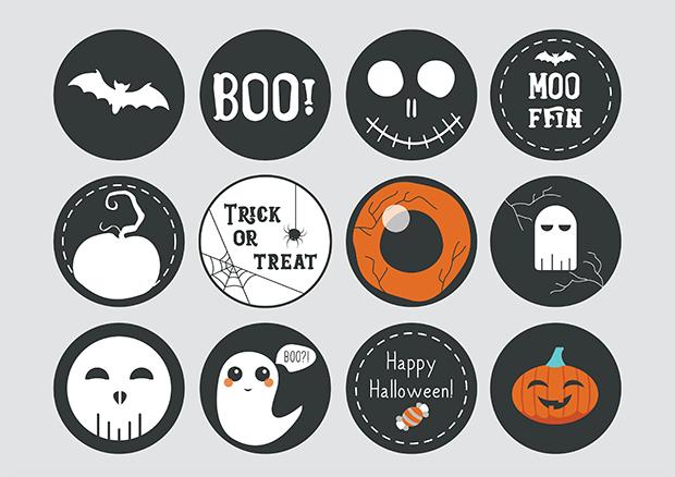 halloween printable party props