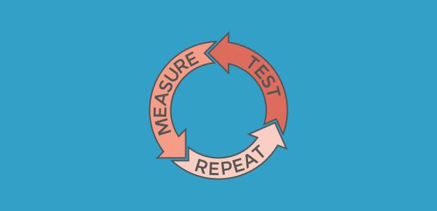 test, measure, repeat