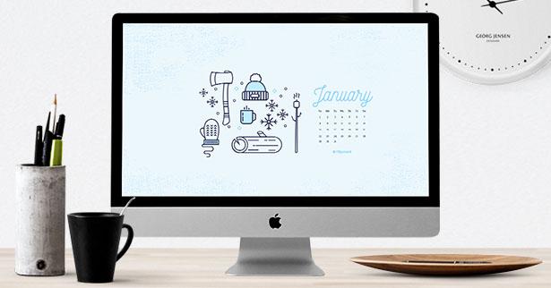 calendar january 2017