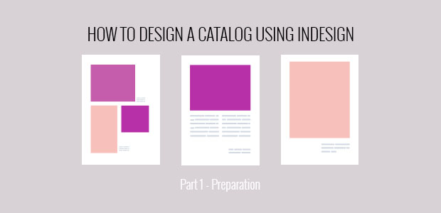 InDesign first steps