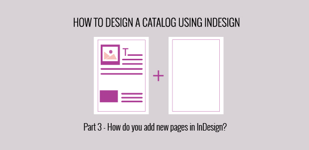 InDesign add new pages