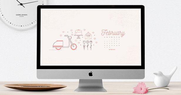 calendar February 2017