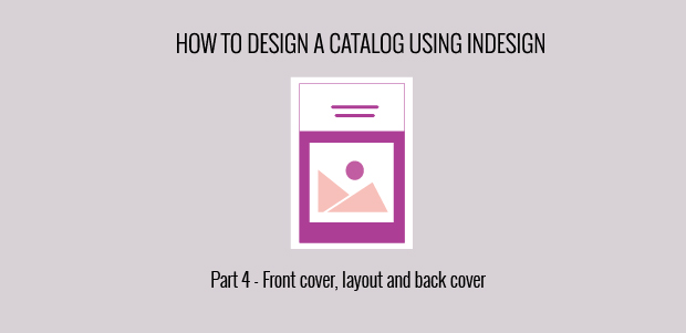 InDesign covers and layouts