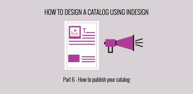 design catalog InDesign