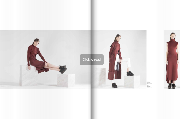 Mullier Bauer fashion lookbook example