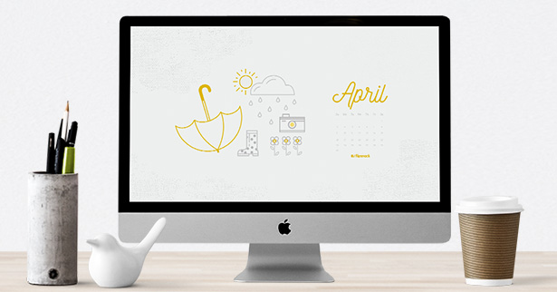 calendar wallpaper april 2017