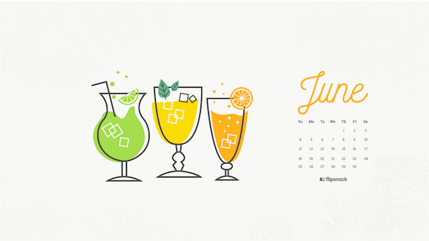 june wallpaper lemonade