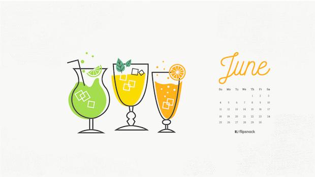 june wallpaper lemonade