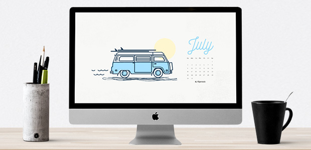 calendar wallpaper July 2017