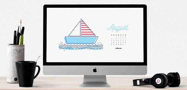 august 2017 calendar wallpaper