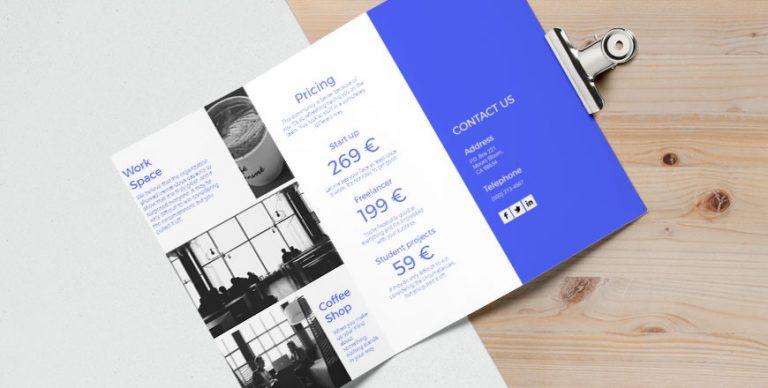 digital pamphlet design