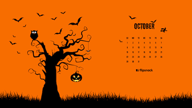 October 2017 Calendar Wallpaper For Desktop Background