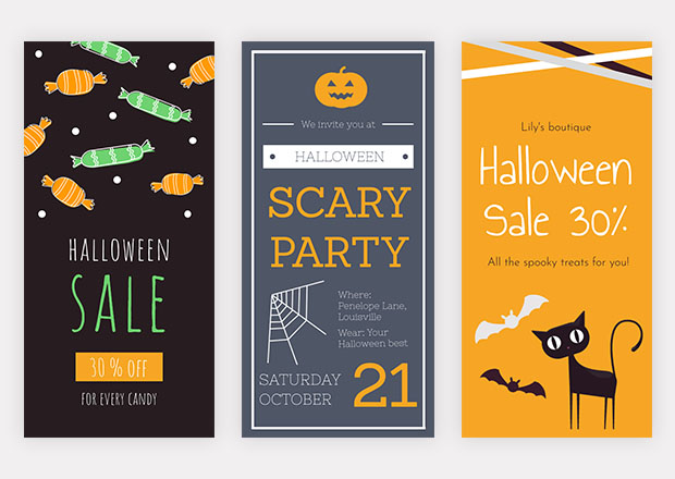free halloween flyer templates