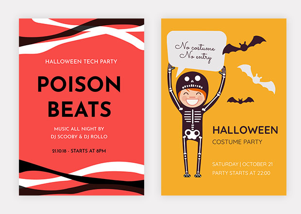 Free Halloween Flyer Templates - Free halloween flyer templates