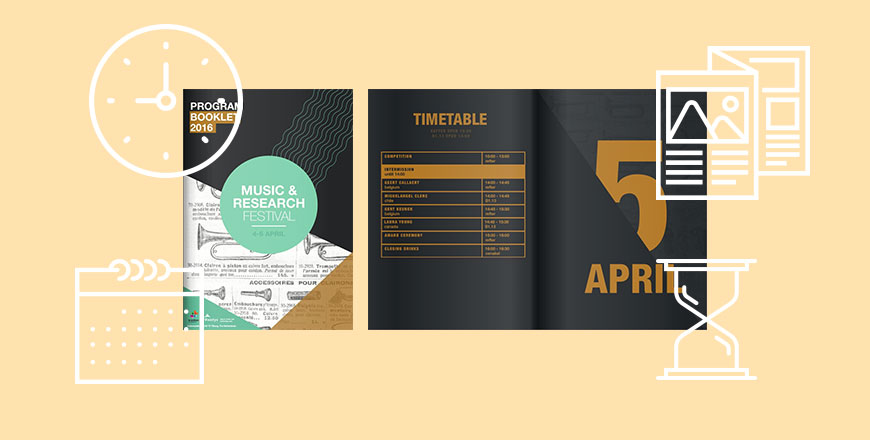 event brochure designs