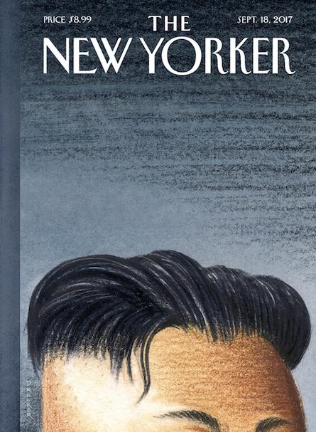New Yorker cover September 2017