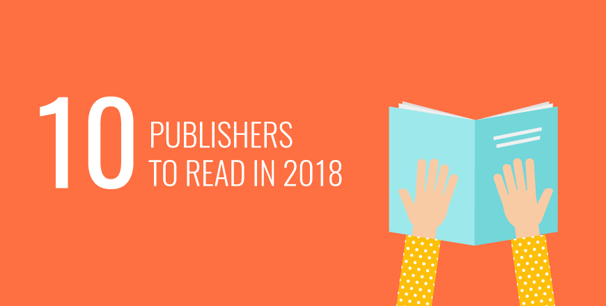 10 publishers to read in 2018