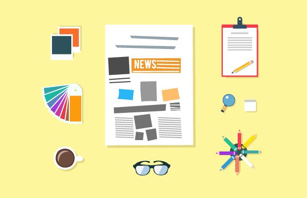 student newspaper design
