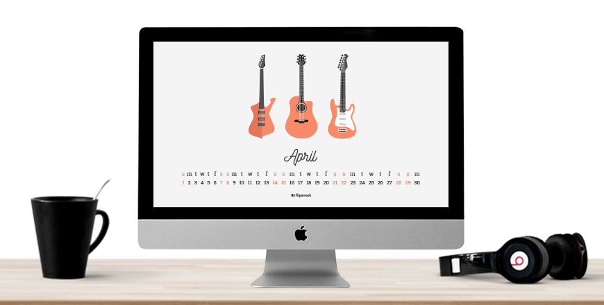 April 2018 Wallpaper Calendar For Desktop Background Flipsnack Blog
