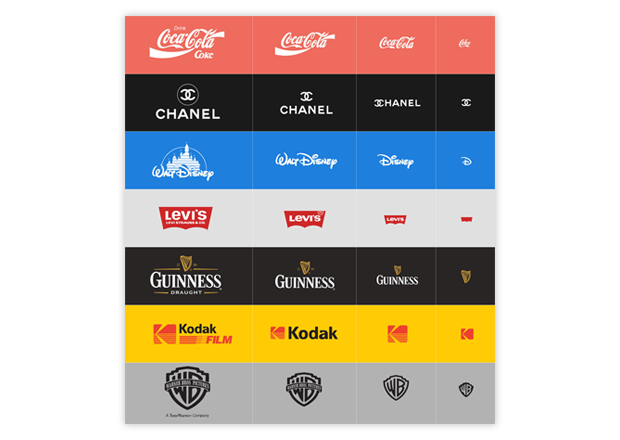 Graphic design trends 2018 responsive logos