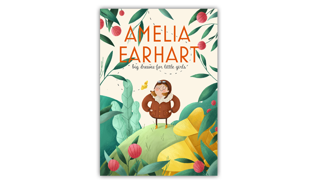 designing for kids - amelia earhart
