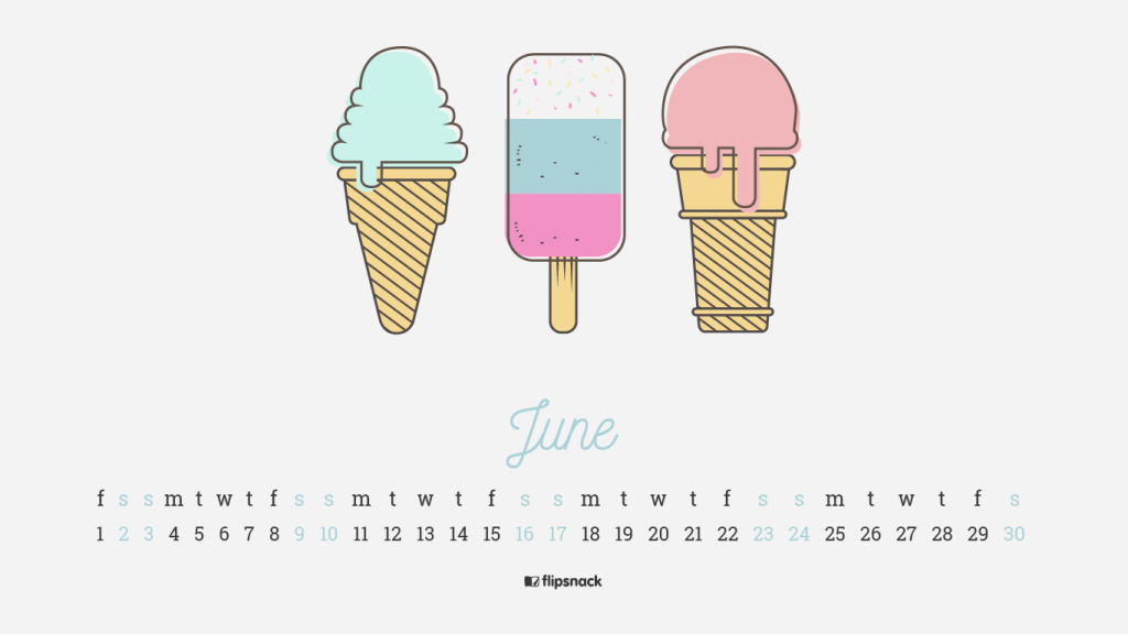 June wallpaper calendar-02