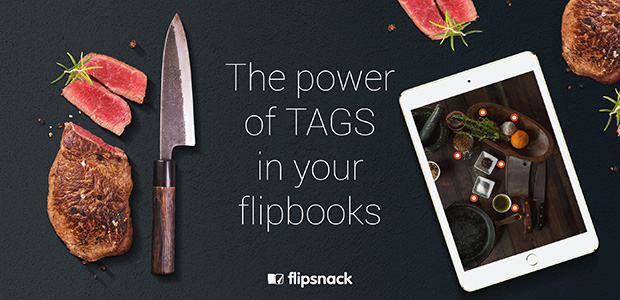 power of tags in flipbooks