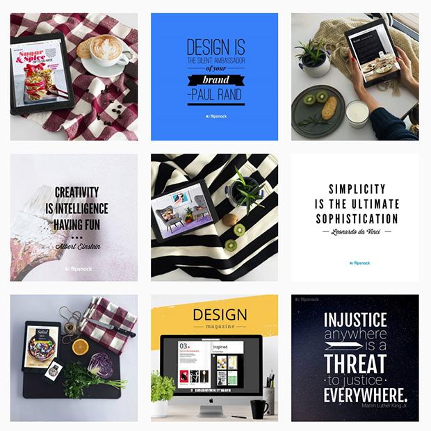 Flipsnack Instagram