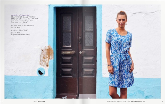 Brora fashion catalog