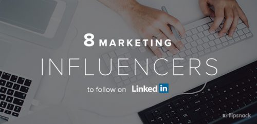 LinkedIn marketing influencers