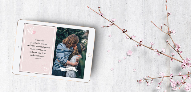 Free Valentine S Day Card Template Psd Format