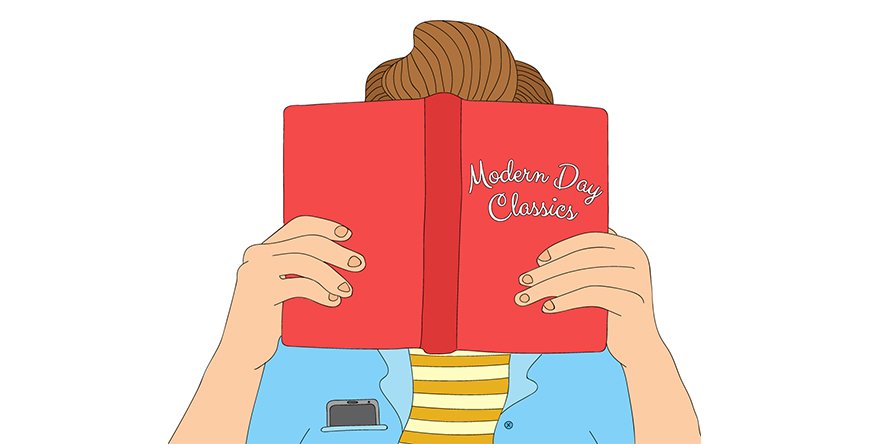 Introducing technology to classic novels